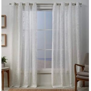 "Exclusive Home Sena Grommet Curtain Panels 54""x96"""